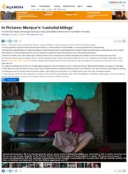 AFSPA Manipur Killings Widows North East India_Al Jazeera