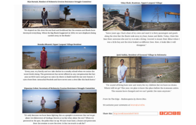 Brahmaputra Climate Change River Erosion Assam Tearsheet_Scroll page 2